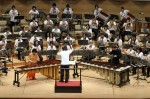 Marimba soloists: Keiko Abe and David C. Panzl