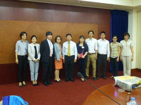 Vietnam National University, Hochiminh City (April 2015)