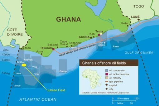 Oil And The City Hope Expectation And Development In Ghana - Where is ghana located