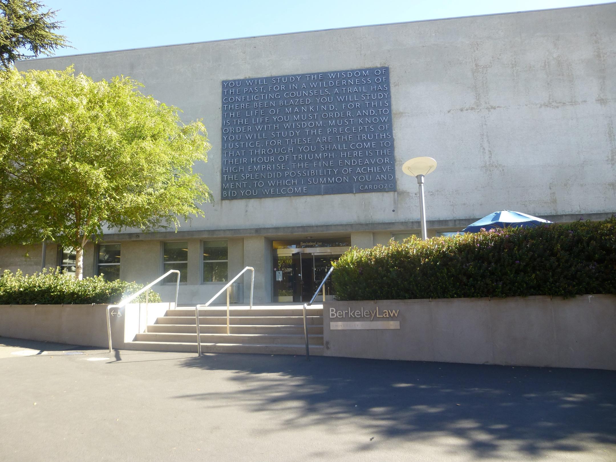 University of California at Berkeley(November 2015)