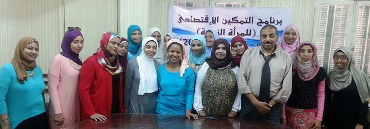 Ms. Mahmoud-Hussein with TOT trainers and participants