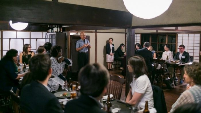 Welcome dinner at Nipponia on September 17.
