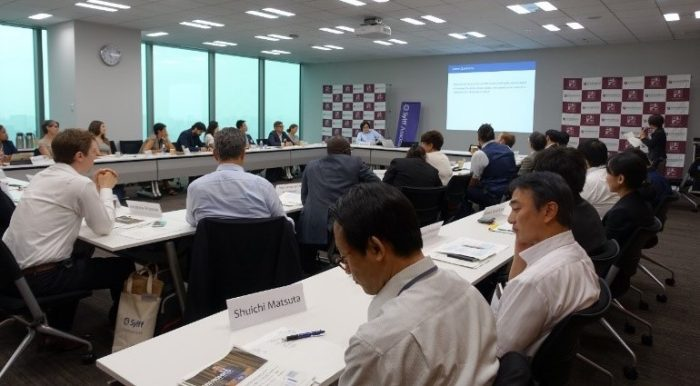 A session with policy experts in Tokyo on September 20.