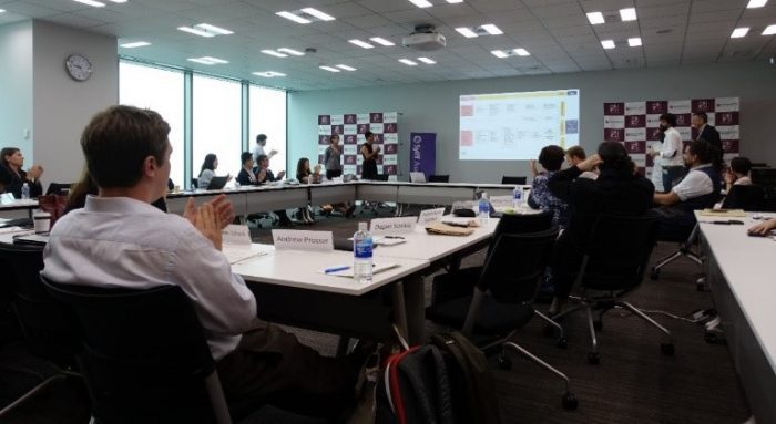 Final presentation (1) on September 21 at the Tokyo Foundation for Policy Research.