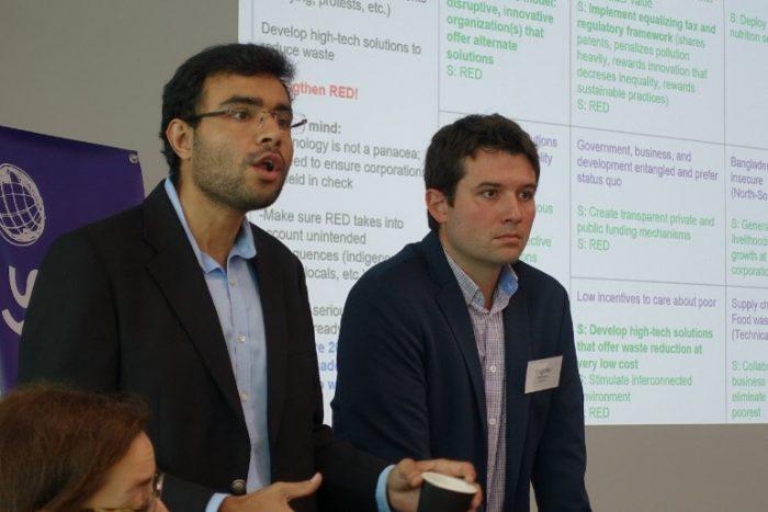 Final presentation (3) by Kabira Namit (left) and Evgeniy Kandilarov (right).