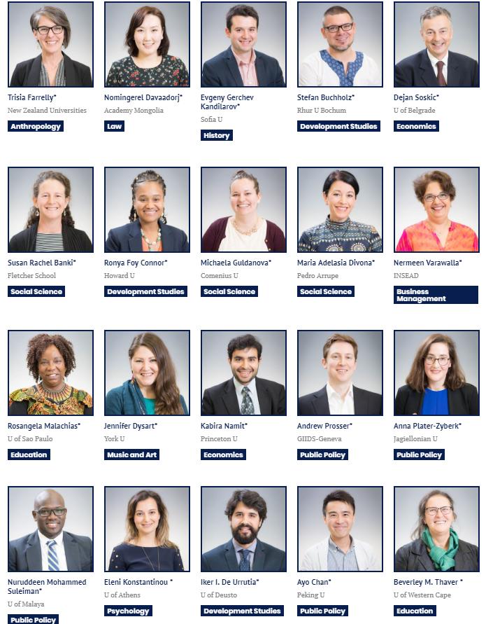 Awardees of Sylff Leaders Workshop 2018-19.